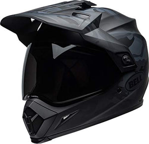 Bell MX-9 Adventure MIPS Full-Face Motorcycle Helmet (Stealth Matte Black Camo, X-Small) - MyBikeCo