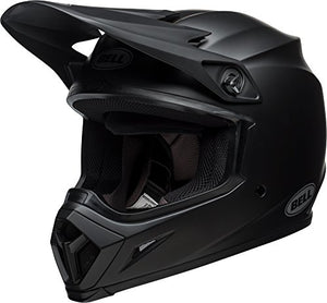 Bell MX-9 MIPS Equipped Motorcycle Helmet (Solid Matte Black, 2X-Large) - MyBikeCo