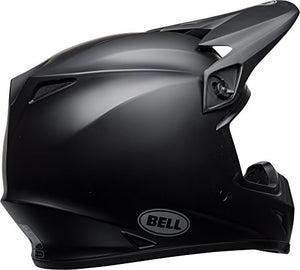 Bell MX-9 MIPS Equipped Motorcycle Helmet (Solid Matte Black, X-Large) - MyBikeCo