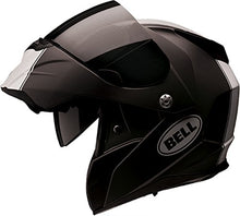 Load image into Gallery viewer, Bell Revolver Evo Modular Motorcycle Helmet (Rally Matte Black/White, Large) - MyBikeCo