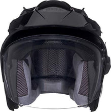 Load image into Gallery viewer, Bell Mag-9 Open Face Motorcycle Helmet (Solid Gloss Black, X-Large) - MyBikeCo