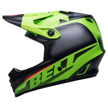 Load image into Gallery viewer, Bell Moto-9 MIPS Youth Motorcycle Helmet (Glory Green/Black/Infared, Small/Medium) - MyBikeCo