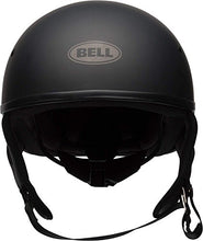 "Load image into Gallery viewer, Bell Pit Boss ""Sport"" Unisex-Adult Half Street Helmet (Solid Matte Black, Large) (D.O.T.-Certified) - MyBikeCo"