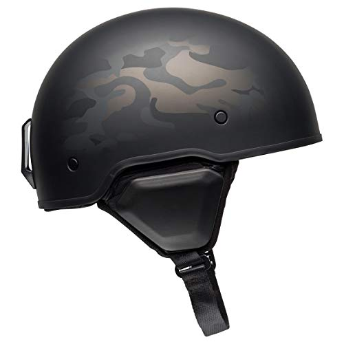 Bell Recon Open-Face Motorcycle Helmet(Camo Matte Gray, Large) - MyBikeCo