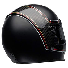 Load image into Gallery viewer, Bell Eliminator Carbon Street Motorcycle Helmet (RSD The Charge Matte/Gloss Black, Large) - MyBikeCo