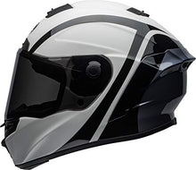 Load image into Gallery viewer, Bell Star MIPS DLX Street Motorcycle Helmet (Tantrum Matte/Gloss White/Black/Titanium, Medium) - MyBikeCo