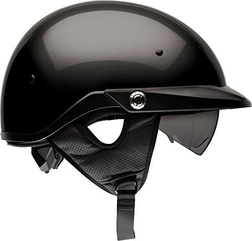 Bell Pit Boss Open-Face Motorcycle Helmet (Solid Black, XXX-Large) - MyBikeCo