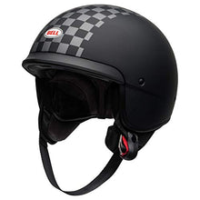 Load image into Gallery viewer, Bell Scout Air Motorcycle Helmet (Check Matte Black/White, Large) - MyBikeCo