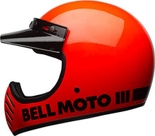 Load image into Gallery viewer, Bell Moto-3 Off-Road Motorcycle Helmet (Classic Gloss Hi-Viz Orange, Large) - MyBikeCo