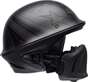 Bell Rogue Half-Size Motorcycle Helmet (Honor Matte Titanium/Black, Large) - MyBikeCo