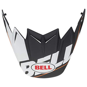Bell Moto-9 Flex Visor, Blocked Black - MyBikeCo