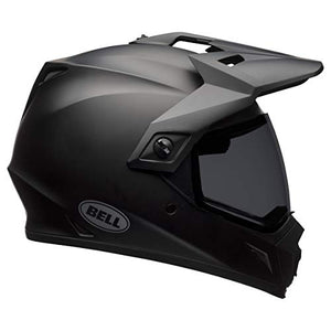 Bell MX-9 Adventure DLX MIPS Full-Face Motorcycle Helmet (Matte Black, Large) - MyBikeCo