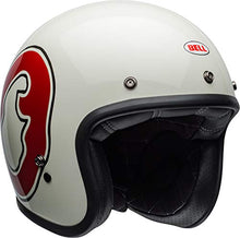 Load image into Gallery viewer, Bell Custom 500 Special Edition Open-Face Motorcycle Helmet (RSD WHO Gloss White/Red, Medium) - MyBikeCo