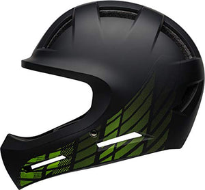 Bell Drop Youth BMX Bike and Skate Helmet, 7106369, Matte Black - MyBikeCo