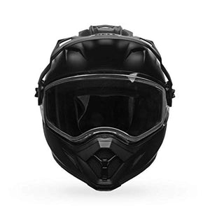 Bell MX 9 Adventure Dual Shield Snow Helmet (Matte Black, Large) - MyBikeCo