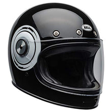 Load image into Gallery viewer, Bell Bullitt Full-Face Motorcycle Helmet (Bolt Gloss Black/White, Large) - MyBikeCo