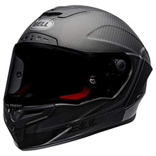 Load image into Gallery viewer, Bell Race Star DLX Full-Face Motorcycle Helmet (Velocity Matte/Gloss Black, Medium) - MyBikeCo