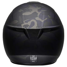 Load image into Gallery viewer, Bell SRT Street Motorcycle Helmet (Stealth Matte Black/Camo, XX-Large) - MyBikeCo