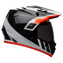 Load image into Gallery viewer, Bell MX-9 Adventure MIPS Full-Face Motorcycle Helmet (Dash Gloss Black/White/Orange, Large) - MyBikeCo