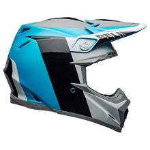 Load image into Gallery viewer, Bell Moto-9 Flex Off-Road Motorcycle Helmet (Division Matte/Gloss White/Black/Blue, X-Large) - MyBikeCo
