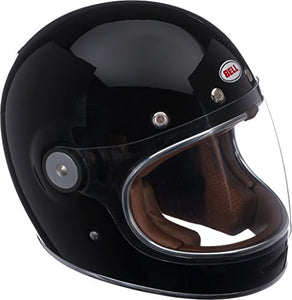 Bell Bullitt Full-Face Motorcycle Helmet (Solid Gloss Black, XX-Large) - MyBikeCo