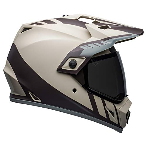 Bell MX-9 Adventure MIPS Full-Face Motorcycle Helmet (Dash Matte Sand/Brown/Gray, Large) - MyBikeCo