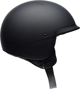 Bell Scout Air Motorcycle Helmet (Solid Matte Black, Large) - MyBikeCo