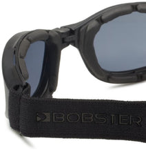 Load image into Gallery viewer, Bobster Crossfire Small Folding Goggles, Black Frame/Smoked Anti-Fog Lens - MyBikeCo