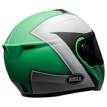 Load image into Gallery viewer, Bell SRT Modular Street Motorcycle Helmet(Presence Matte/Gloss Green/White/Black, Large) - MyBikeCo