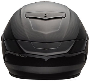 Bell Race Star Full-Face Motorcycle Helmet (Solid Matte Black, X-Large) - MyBikeCo
