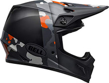 Load image into Gallery viewer, Bell MX-9 MIPS Off-Road Motorcycle Helmet (Presence Matte/Gloss Black Flo Orange Camo, XX-Large) - MyBikeCo