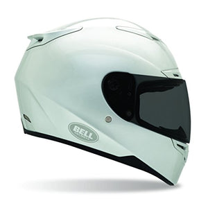 BELL Solid Adult RS-1 Sports Bike Racing Motorcycle Helmet - Silver/Large - MyBikeCo