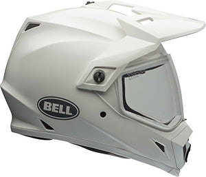 Bell MX-9 Adventure MIPS Full-Face Motorcycle Helmet (Gloss White, XX-Large) - MyBikeCo