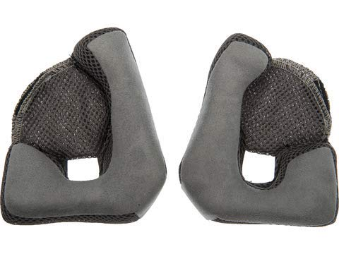 Bell Mag-9 Cheek Pads (Grey, 45mm) - MyBikeCo