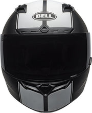 Load image into Gallery viewer, Bell Qualifier DLX Full-Face Motorcycle Helmet (Rally Matte Black/White, Large) - MyBikeCo
