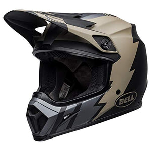 Bell MX-9 MIPS Off-Road Motorcycle Helmet (Matte Khaki/Black, Large) - MyBikeCo