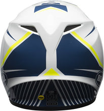 Load image into Gallery viewer, Bell MX-9 MIPS Off-Road Motorcycle Helmet (Gloss White/Blue/Yellow Torch, Small) - MyBikeCo