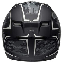 Load image into Gallery viewer, Bell Qualifier Full-Face Motorcycle Helmet (Stealth Camo Matte Black/White, Medium) - MyBikeCo