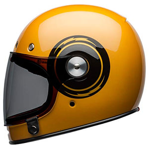 Bell Bullitt Full-Face Motorcycle Helmet (Bolt Gloss Yellow/Black, Large) - MyBikeCo