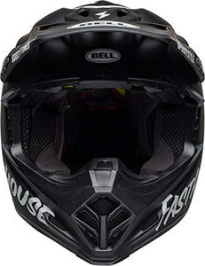 Bell Moto-9 MIPS Off-Road Motorcycle Helmet (Fasthouse Matte Black/White, XX-Large) - MyBikeCo