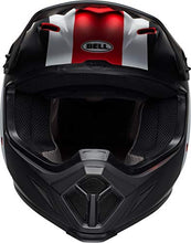 Load image into Gallery viewer, Bell MX-9 MIPS Off-Road Motorcycle Helmet (Presence Matte/Gloss Black/White/Red, X-Small) - MyBikeCo