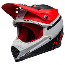 Load image into Gallery viewer, Bell Moto-9 MIPS Dirt Helmet - Prophecy Matte White/Red/Black - X-Large - MyBikeCo