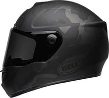 Load image into Gallery viewer, Bell SRT Street Motorcycle Helmet (Stealth Matte Black/Camo, Medium) - MyBikeCo