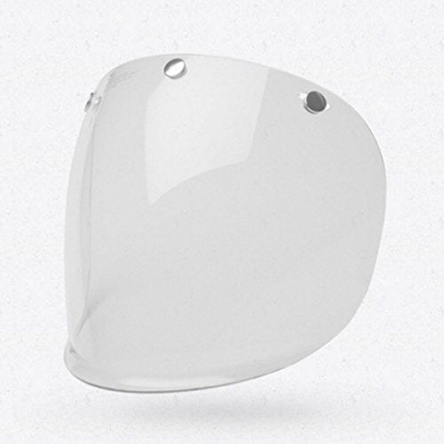 Bell 3-Snap Flat Shield , Clear - MyBikeCo