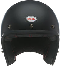 Load image into Gallery viewer, Bell Custom 500 Open-Face Motorcycle Helmet (Solid Matte Black, X-Large) - MyBikeCo