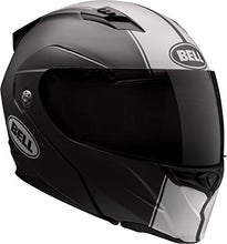 Load image into Gallery viewer, Bell Revolver Evo Modular Motorcycle Helmet (Rally Matte Black/White, Medium) - MyBikeCo