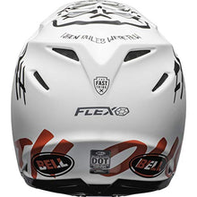 Load image into Gallery viewer, Bell Moto-9 Flex Off-Road Motorcycle Helmet (Fasthouse WRWF Matte White/Black/Red, Large) - MyBikeCo