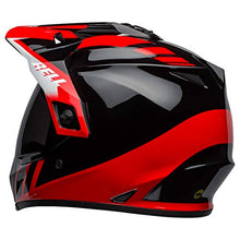 Load image into Gallery viewer, Bell MX-9 Adventure MIPS Full-Face Motorcycle Helmet (Dash Gloss Black/Red/White, Medium) - MyBikeCo