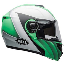 Load image into Gallery viewer, Bell SRT Modular Street Motorcycle Helmet(Presence Matte/Gloss Green/White/Black, Small) - MyBikeCo