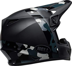 Bell MX-9 MIPS Off-Road Motorcycle Helmet (Presence Matte/Gloss Black Titanium Camo, Large) - MyBikeCo